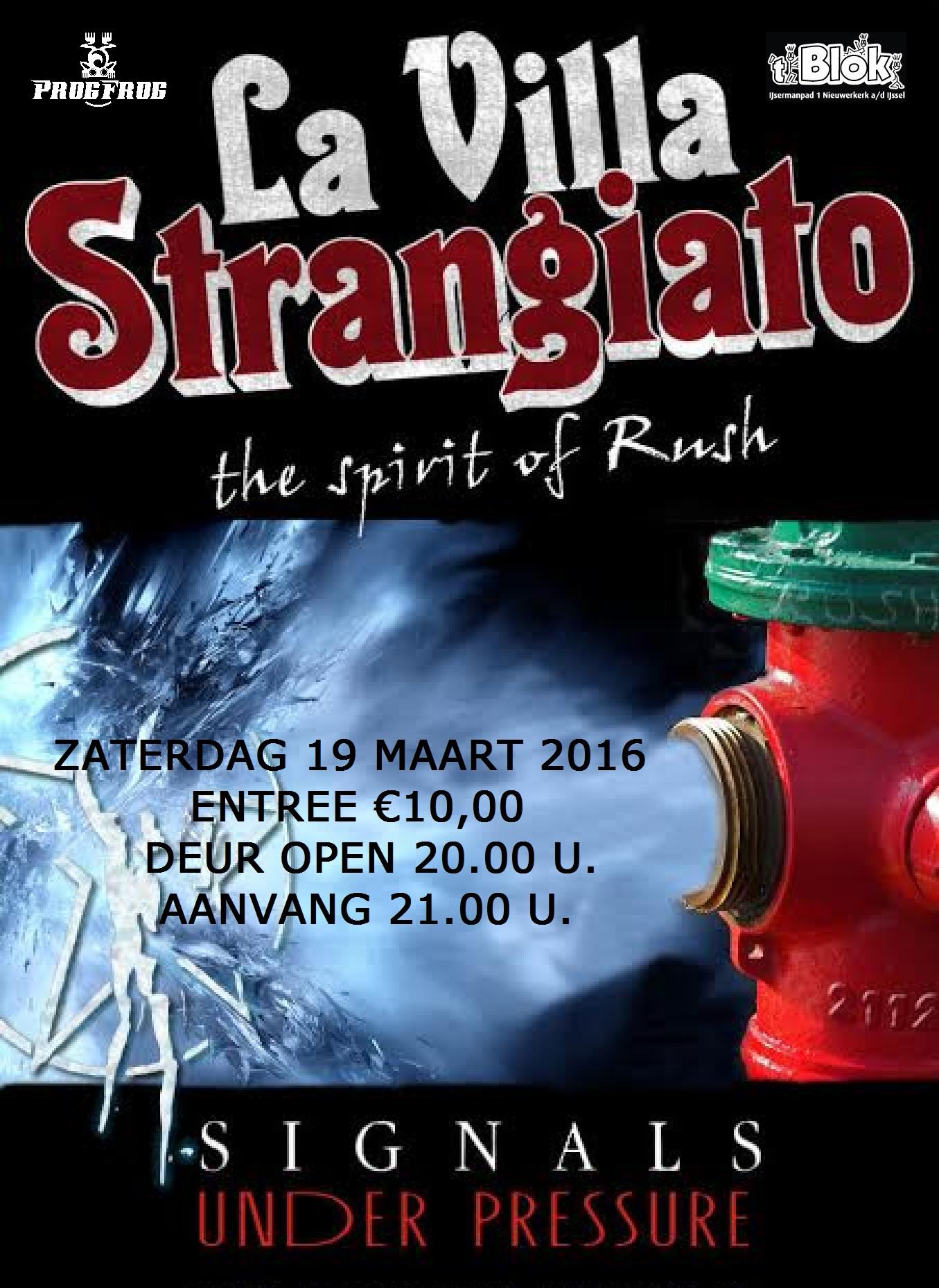 """Rush Tribute Band """"La Villa Strangiato"""""""