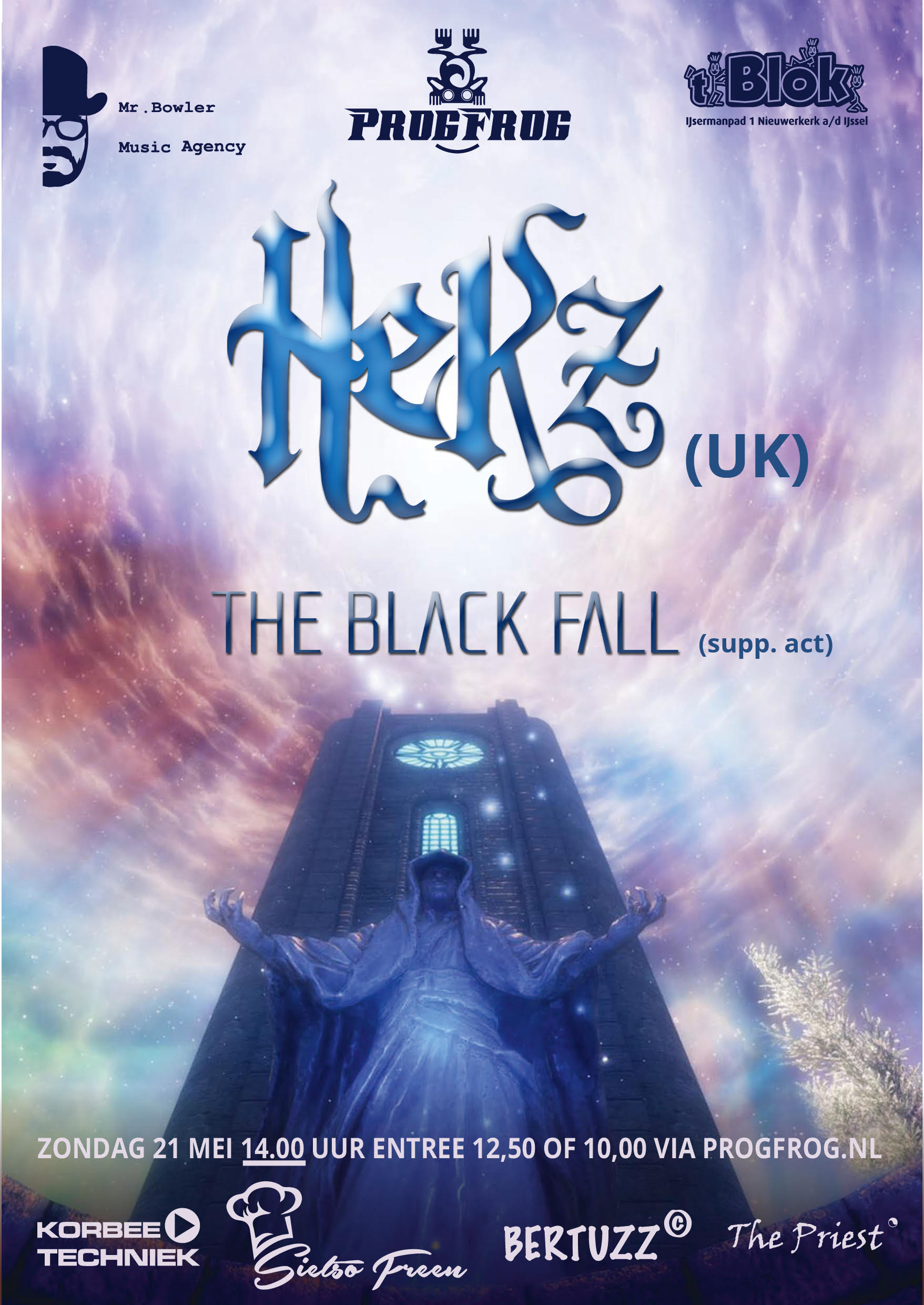 HEKZ (UK) + support act THE BLACK FALL