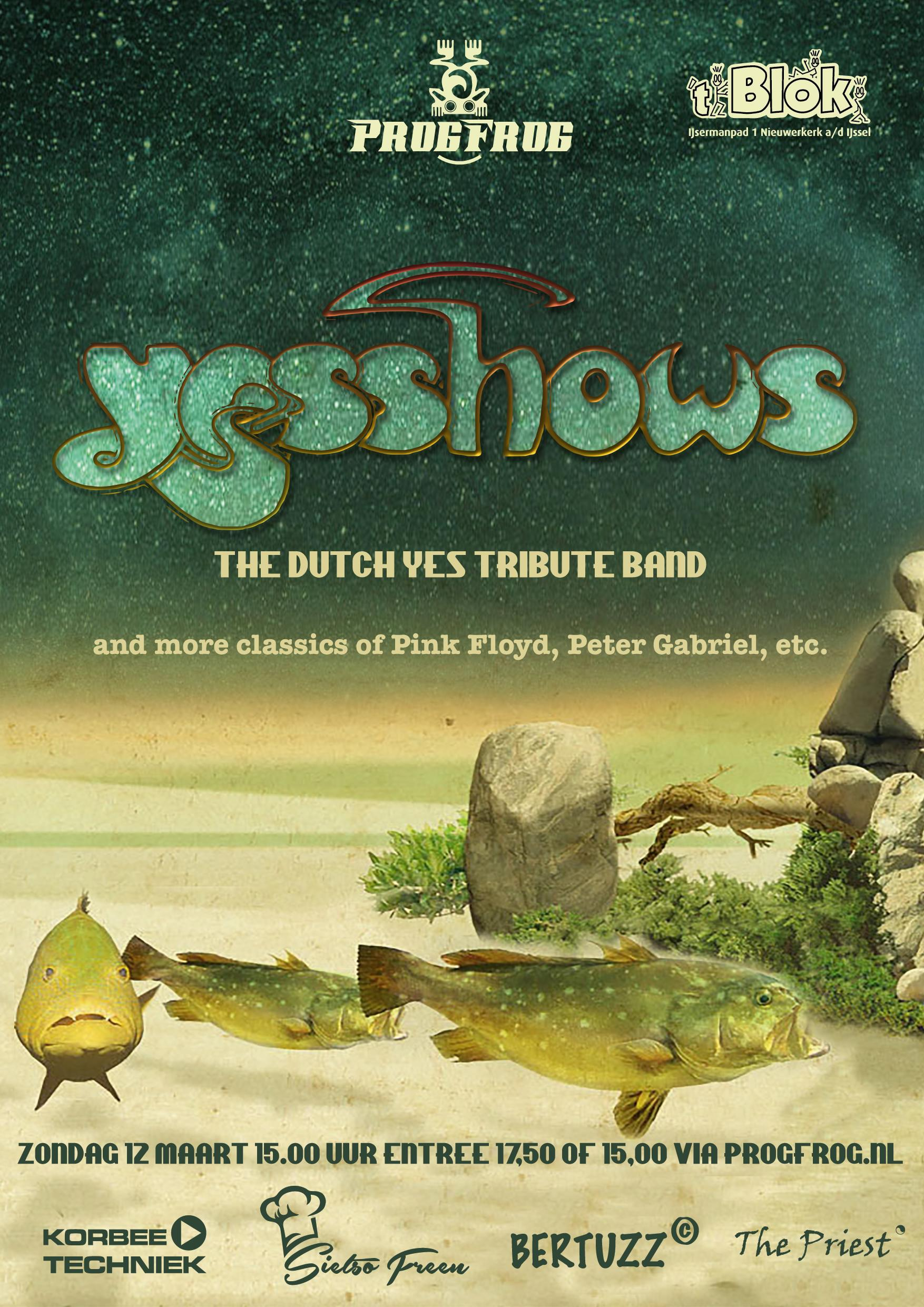 YESSHOWS & other symfo classics (Peter Gabriel, Pink Floyd etc.)