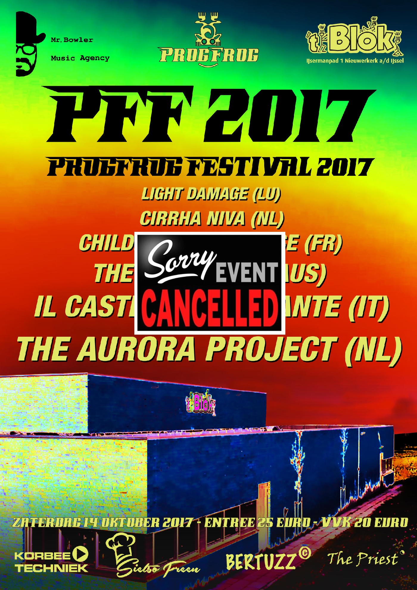 ProgFrogFestival 2017 GEANNULEERD