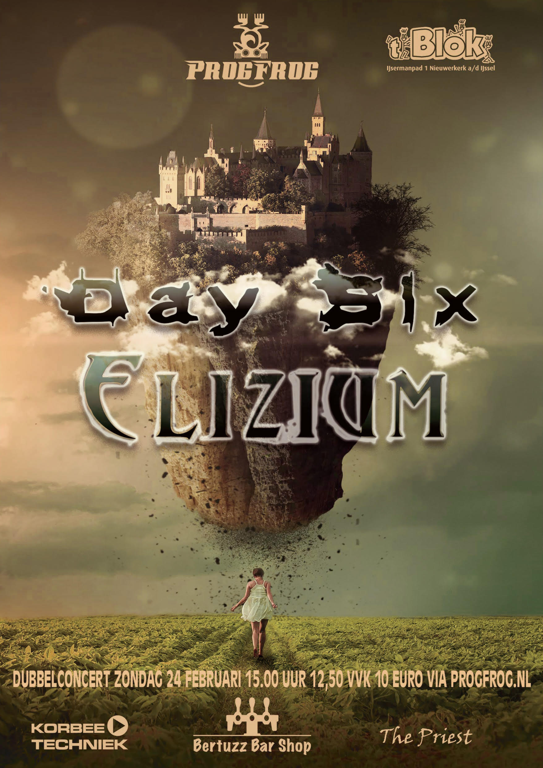 Day Six & Elizium (dubbelconcert)