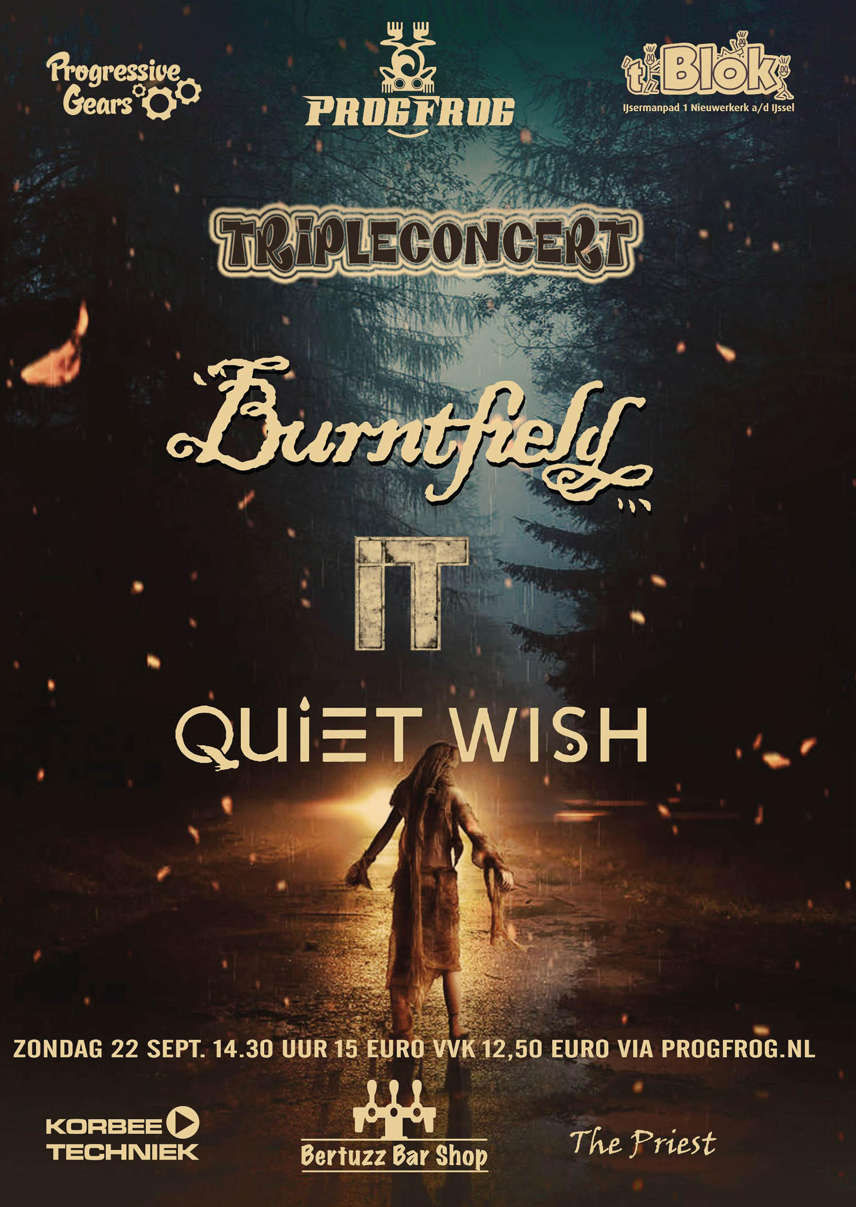 Burntfield / IT / Quiet Wish