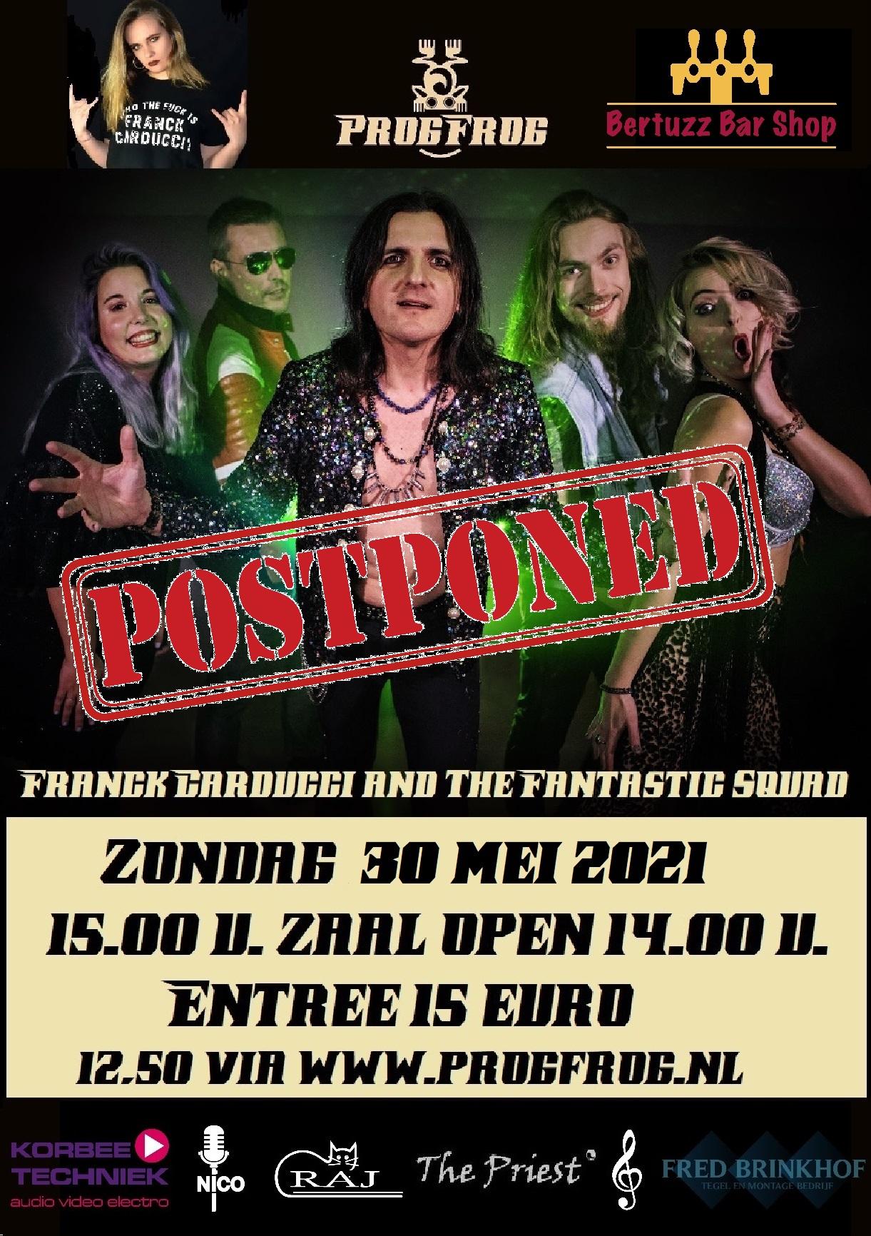 Franck Carducci Band (POSTPONED)
