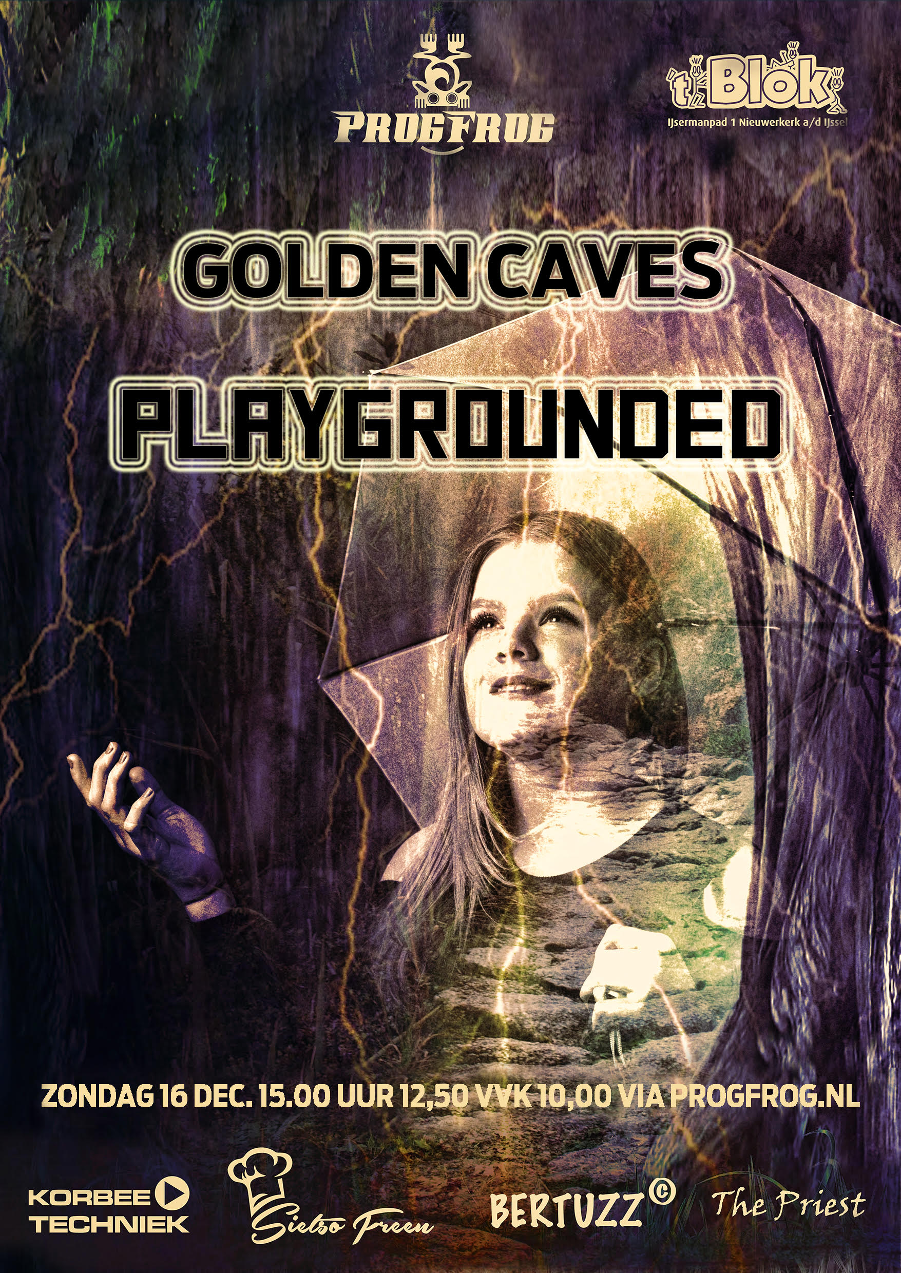 Golden Caves (NL) & Playgrounded (Greece)