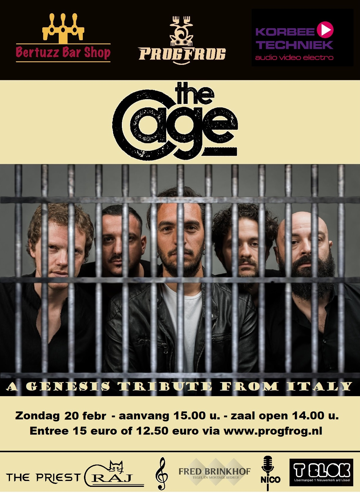 The Cage (Genesis Tribute) Italy